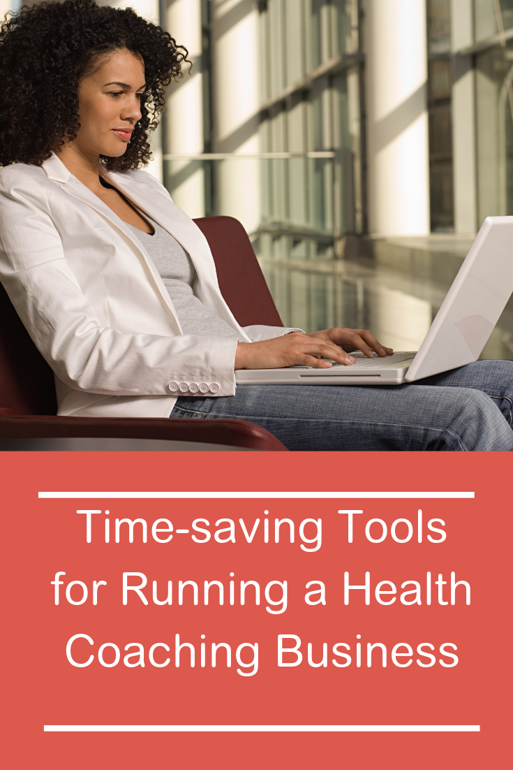 Do you find yourself getting distracted running a health coaching business from home? Here's how you can save time and be more productive! #workingfromhome #healthcoach #productivity #howtosavetime #workathome #timesavingtips #career #worklifebalance
